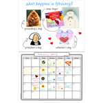 "Make Your Own Calendar Book 11""X8.5""-"