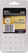 White - Self-Sticking Reinforcements 544/Pkg
