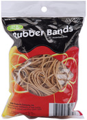 Assorted Sizes-Tan - Rubber Bands .25lb
