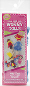 Cheerleader - Make Your Own Worry Dolls Kit - Makes 4