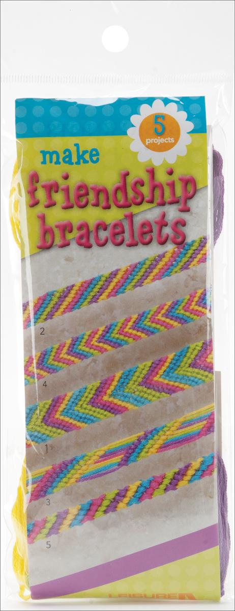 Make Friendship Bracelets Kit-Makes 5