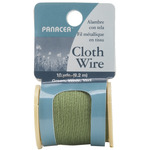 Green - Cloth Covered Spool Wire 30'/Pkg