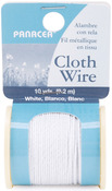 White - Cloth Covered Spool Wire 30'/Pkg