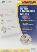 "Cleer Adheer Heavyweight Laminating Sheets 9""X12"" 2/Pkg"