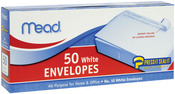 "Regular #10 - Boxed Peel and Stick Envelopes 4.125""X8.5"" 50/Pkg"