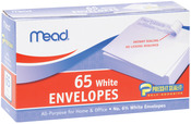 "Regular #6 - Boxed Peel and Stick Envelopes 3.625""X6.5"" 65/Pkg"