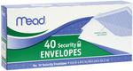 """Security #10 - Boxed Envelopes 4.125""""X9.5"""" 40/Pkg"""