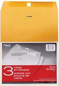 """Heavy Kraft - Clasp Envelopes 10""""X13"""" 3/Pkg"""