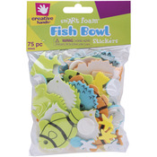 Fish Bowl - Foam Stickers