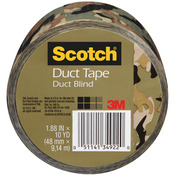 "Camo - Scotch Printed Duct Tape 1.88""X10yd"