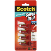Scotch Super Glue Liquid 4/Pkg