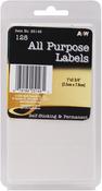 """White All Purpose 1""""X2.75"""" 128/Pkg - Labels"""