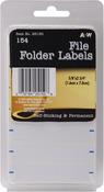"""File Folder .625""""X2.75"""" 154/Pkg - Labels"""