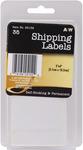 "Shipping 2""X4"" 35/Pkg - Labels"