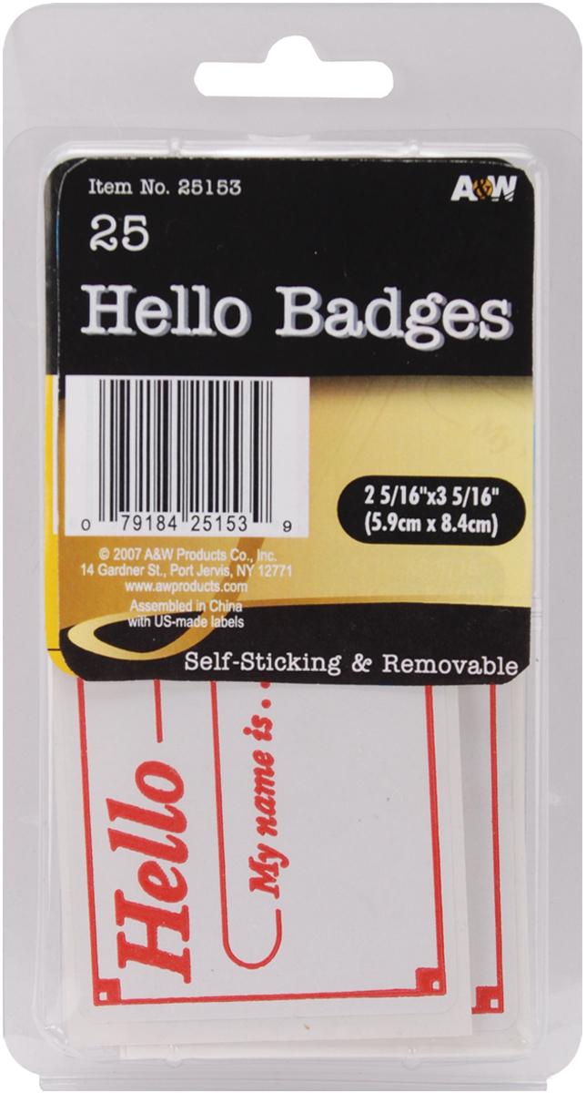Hello Badges 2.3125