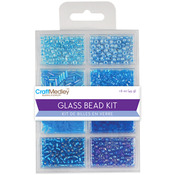 The Blues - Glass Bead Kit 45g/Pkg