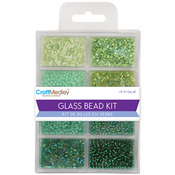 Going Green - Glass Bead Kit 45g/Pkg