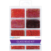 Rouge - Glass Bead Kit 45g/Pkg