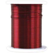 Red - Metallic Beading & Jewelry Wire 28 Gauge 32'/Pkg