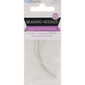 Soft-Flex Beading Needles Fine Point .23mm 10/Pkg