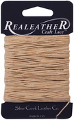 Tan - Waxed Thread Carded 25yd