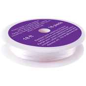 Clear - Elastic Cord .8mm 18 Ft/Pkg