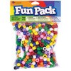 Rainbow - Fun Pack Acrylic Pony Beads 700/Pkg