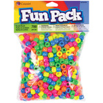 Neon - Fun Pack Acrylic Pony Beads 700/Pkg