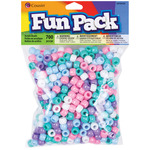 Pastel - Fun Pack Acrylic Pony Beads 700/Pkg
