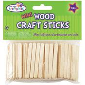 "Mini Craft Sticks - Natural 2.125"" 150/Pkg"