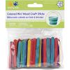"Colored 2.125"" 150/Pkg - Mini Popsicle Sticks"