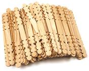 """Natural 4.5"""" 100/Pkg - Craft Skill Sticks"""