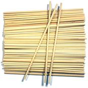 """Natural 5/32"""" 60/Pkg - Wood Craft Dowels 6"""""""