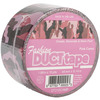 """Pink, Brown & Black Printed Camo - Duct Tape 2""""X10yds"""