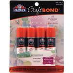 Clear - Elmers Craftbond All Purpose Glue Sticks .21oz 4/Pkg