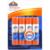 .21oz Each - All Purpose Glue Sticks 4/Pkg