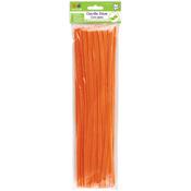 """Orange - Chenille Stems 6mmx12"""" 40/Pkg"""