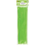 """Lime Green - Chenille Stems 6mmx12"""" 40/Pkg"""