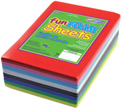"Primary Assortment - Foam Sheets 1.5mm 4""X6"" 30/Pkg"