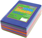 "Fashion Assortment - Foam Sheets 1.5mm 4""X6"" 30/Pkg"