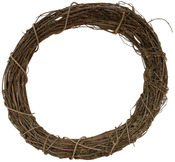 """Natural - Grapevine Wreaths 12"""" Bulk"""