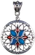 Silver Sunburst - Jewelry Basics Metal Accent 1/Pkg