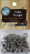 Silver - Vintage Collection Jump Rings 8mm 100/Pkg