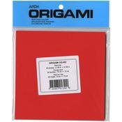"Red - Origami Paper 5.875""X5.875"" 50/Pkg"