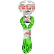 Neon Green - Parachute Cord 3mm 21'/Pkg