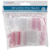 """Zip - Lock Polybags 1.5""""X1.5"""" 200/Pkg-"""