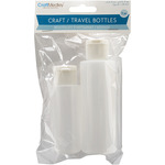 2oz & 4oz - Craft/Travel Bottles 2/Pkg