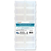 "Organizer Box W/Snap Lids 9""X4""X1""-14 Compartment"