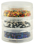 Bead Storage Screw Stack Cannisters