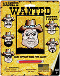 "Wanted Poster - Magnetic Personalities 7""X8.75"""